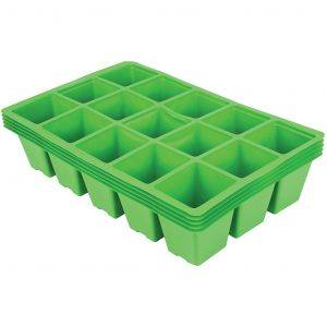 15 Cell Seed Tray Inserts Pack of 5