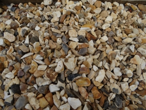 Flint Shingle Gold 10 mm