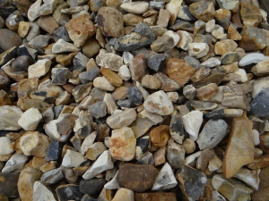 Flint Shingle Gold 20 mm