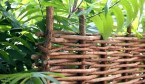 Hurdle Hazel Full Branch 1800 x1800mm