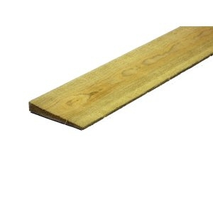Slat Timber Feather Edge 14/7x100x1650mm
